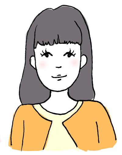 石澤研究所ビューティレポ 面長さんに似合う前髪