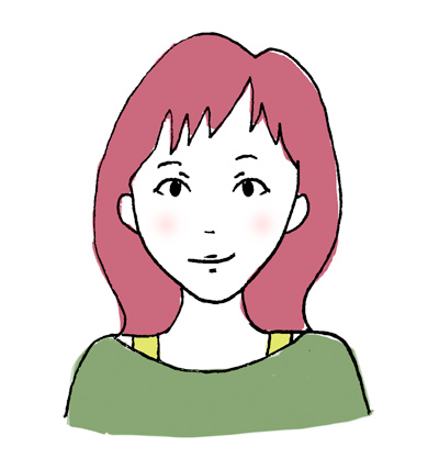 石澤研究所ビューティレポ 逆三角形顔さんに似合う前髪