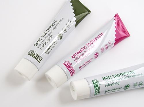 アルジタル グリーンクレイ歯磨き