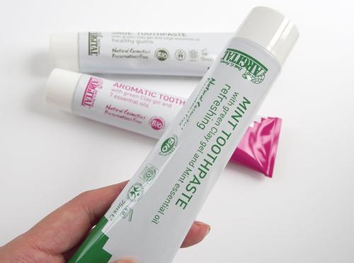 アルジタル グリーンクレイ歯磨きミント