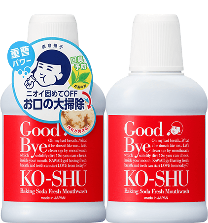 Hamigaki Nadeshiko  Baking Soda Fresh Mouthwash