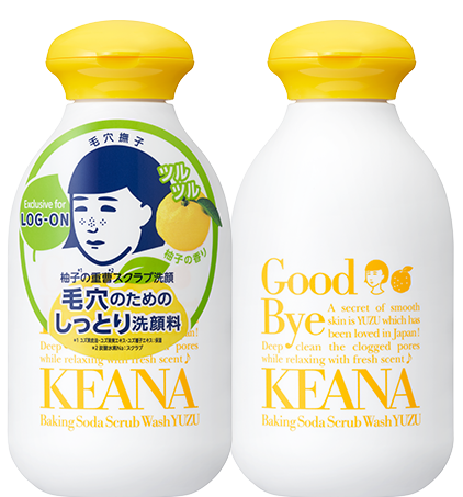 KEANA Baking Soda Scrub Wash YUZU