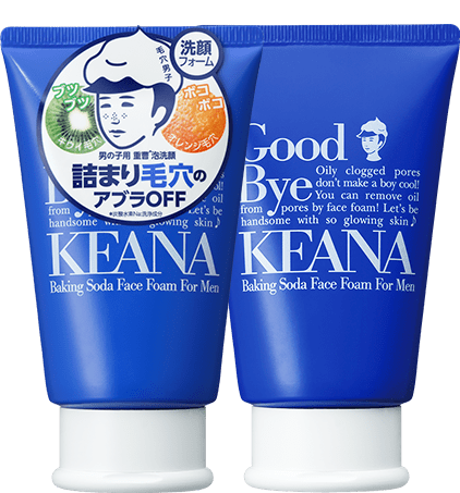 KEANA Baking Soda Face Foam for Men